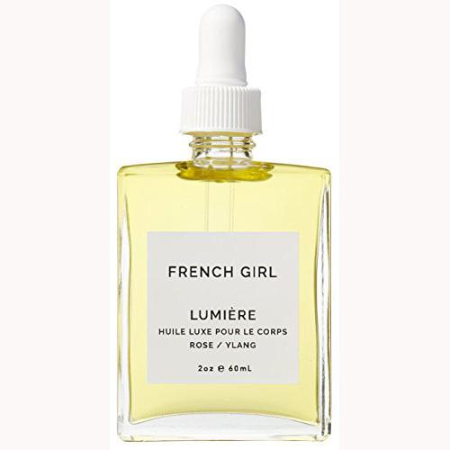 French Girl Organics – Organic / Vegan Lumiere Body Oil (Rose / Ylang)