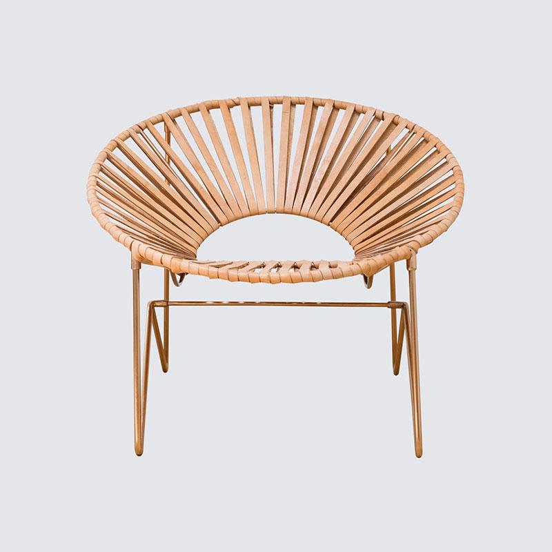 Aldama Chair – Copper & Natural