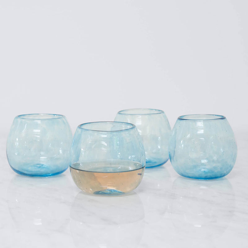 Apasco Cocktail Glasses – Blue