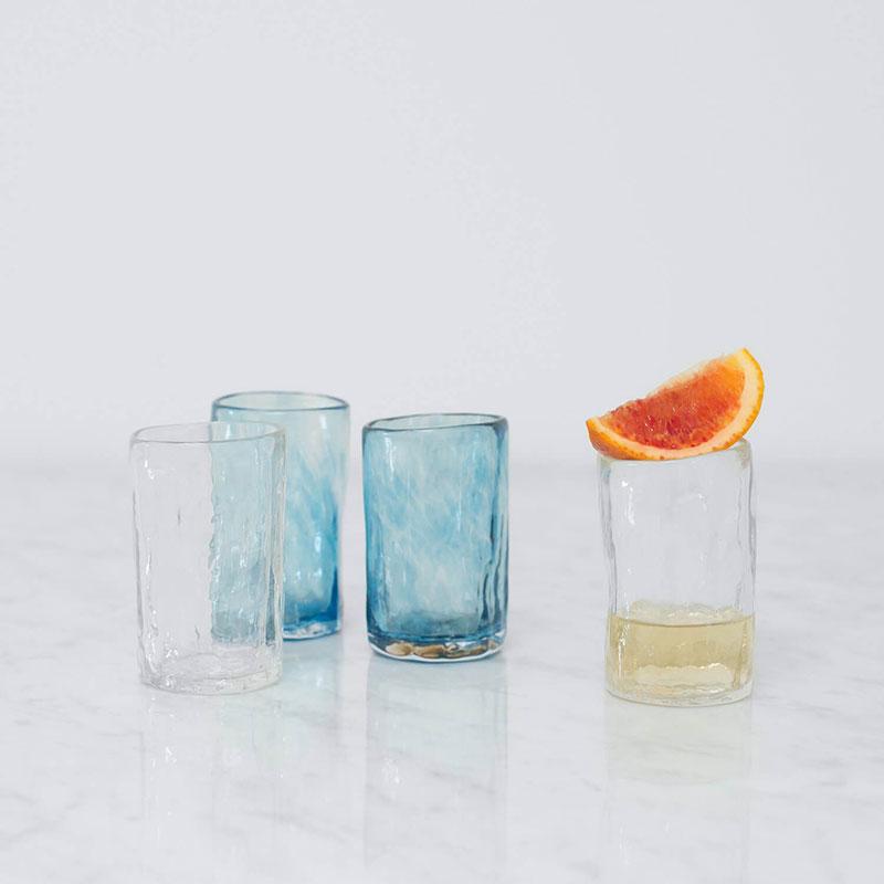 Apasco Mezcal Glasses – Clear – Set of 2
