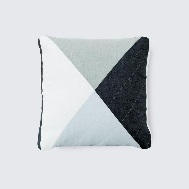 Ballydown Pillow - Blue Linen