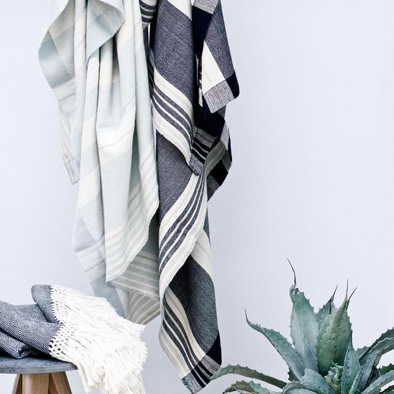 Del Campo Blanket – Indigo