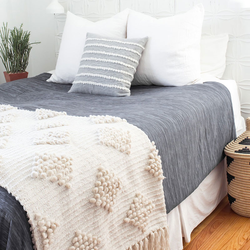 Estrato Oversized Bed Throw