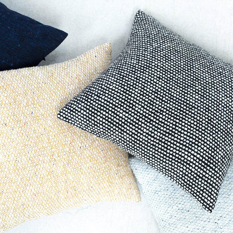 Hawthorn Tweed Pillows – Black & White