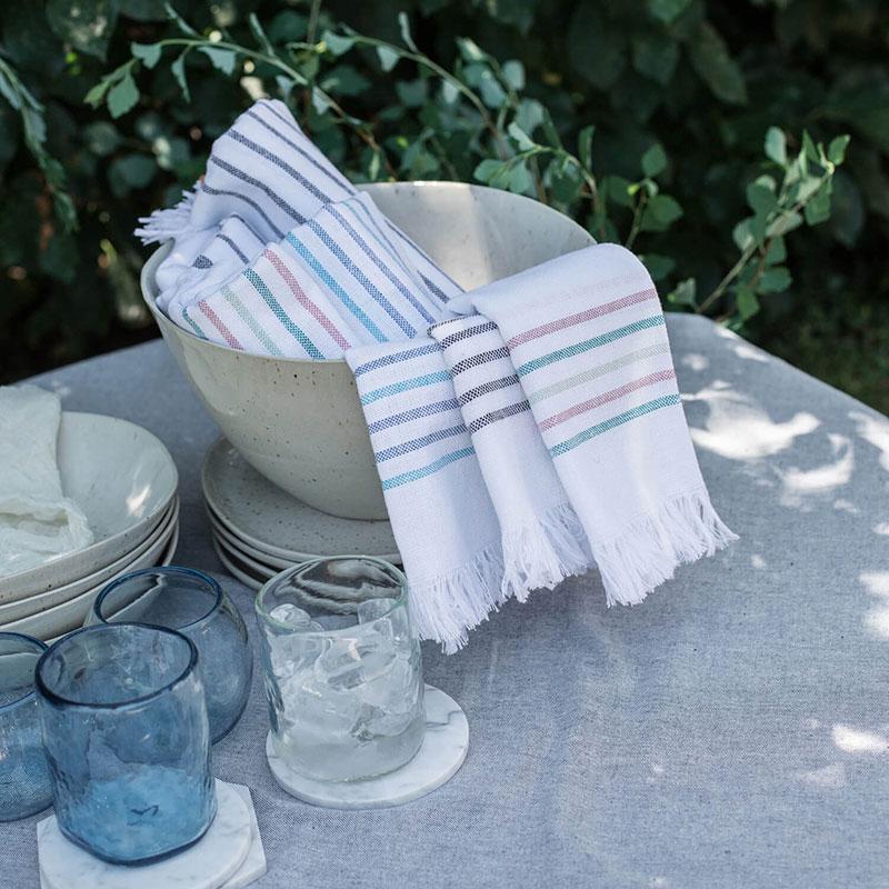 shoppulp puebla napkins aqua set of 4