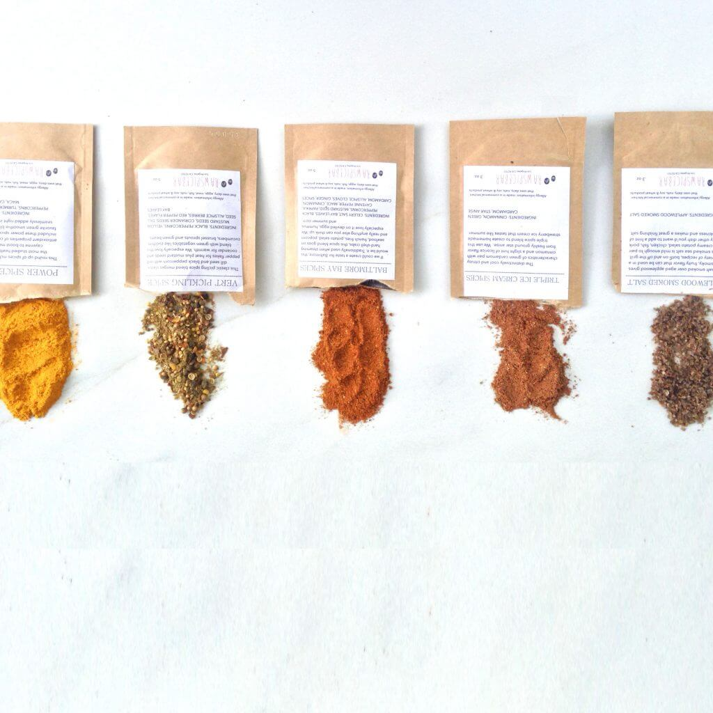 RAW SPICE BAR The Monthly Spice Box
