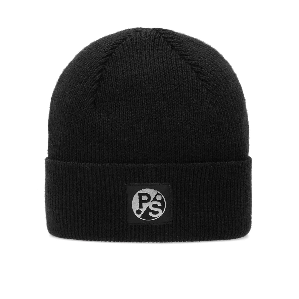 PAUL SMITH Merino Beanie in Black