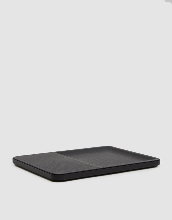 COURANT Catch 3 Wireless Charging Accessory Tray in Black