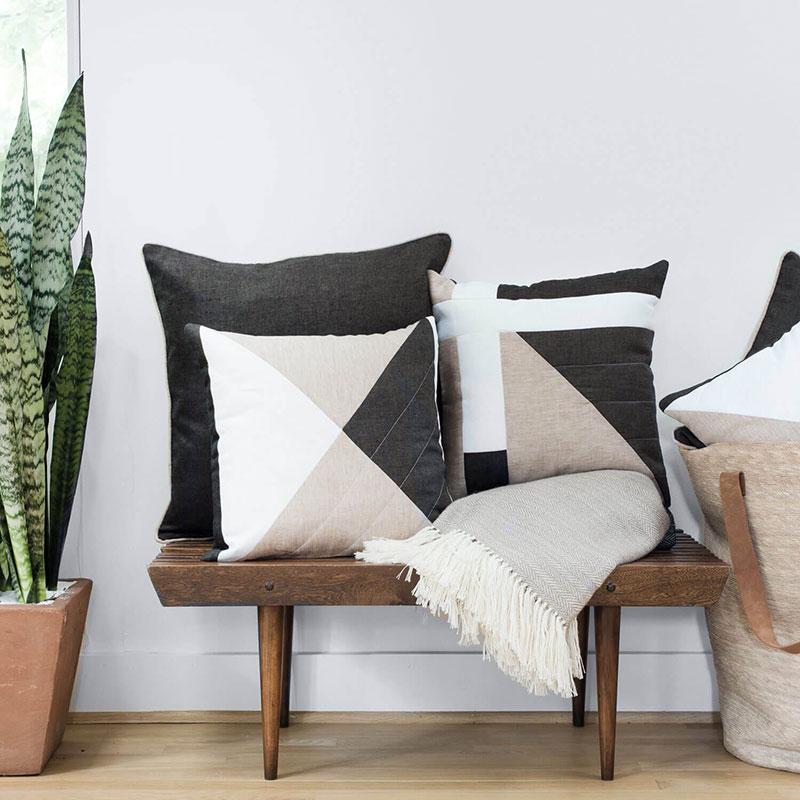 Ballydown Pillow – Sand Linen