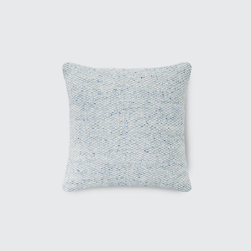 Chicory Tweed Pillow – Light Blue