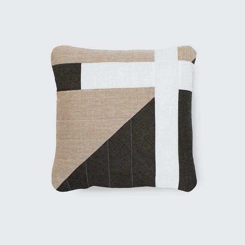 Corbet Pillow – Sand Linen