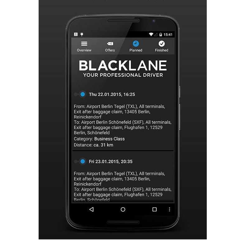 BLACKLANE Global Driving Service