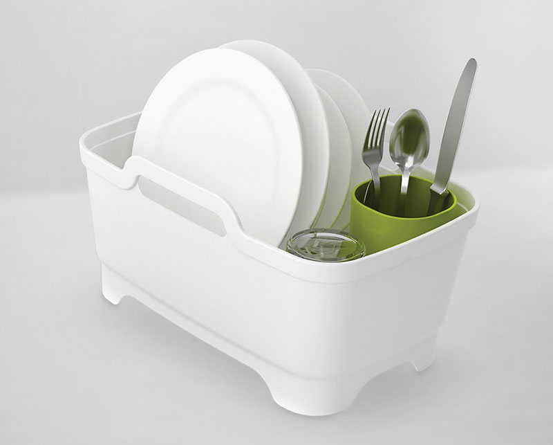 Wash & Drain™ Plus – 3-piece dishwashing and draining set