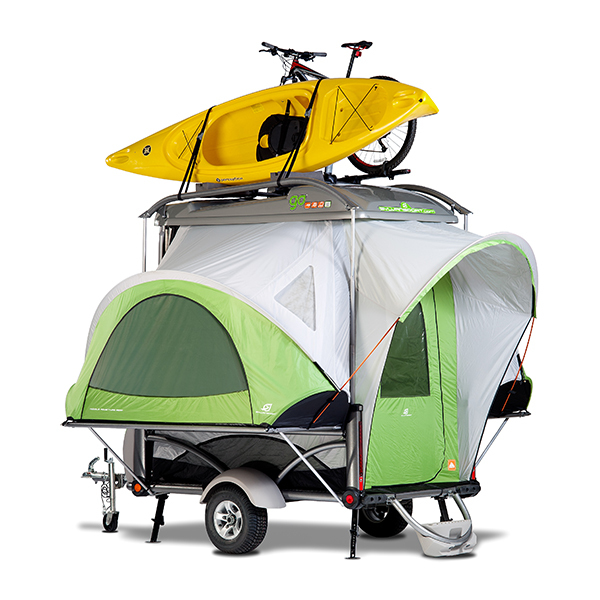 Studio shoot SylvanSport GO camper trailer