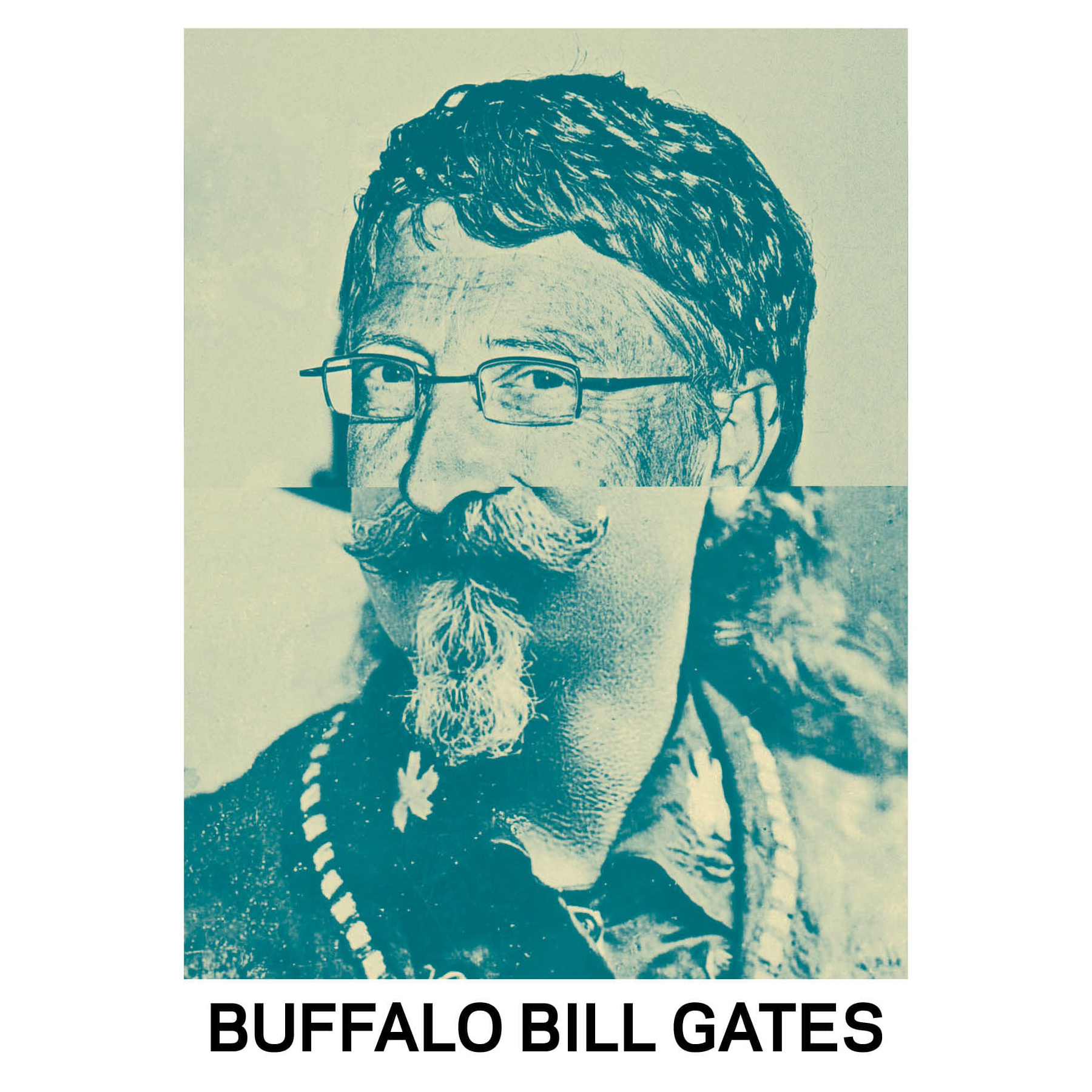 STUDIO KALLE MATTSSON 'BUFFALO BILL GATES' Mashup Art Print