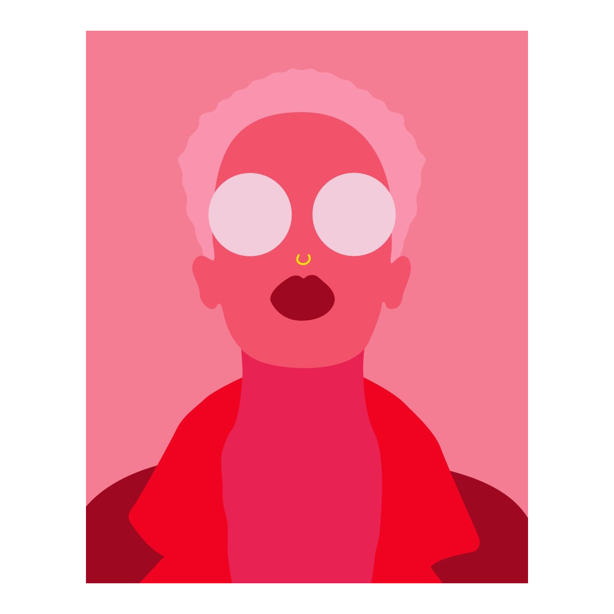byisabel 'BIG EYES' Art Print