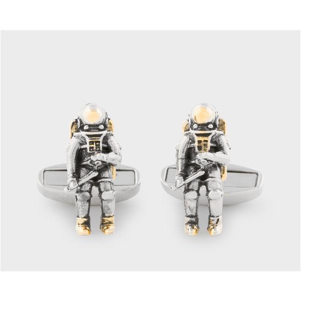 PAUL SMITH Men's Astronaut Cufflinks