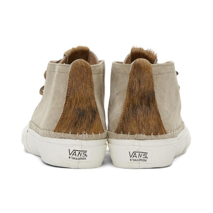 VANS Grey Taka Hayashi Edition Chukka Nomad LX Sneakers