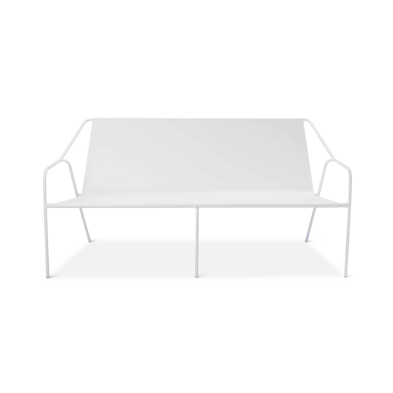 Modern by Dwell Magazine Outdoor Sofa White
