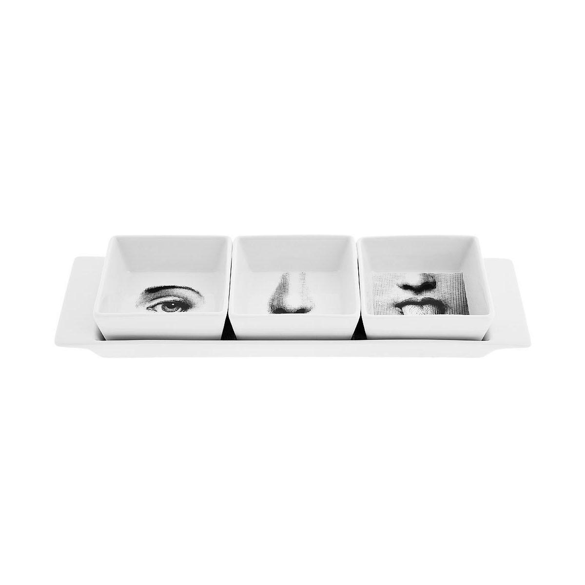 FORNASETTI China tray set