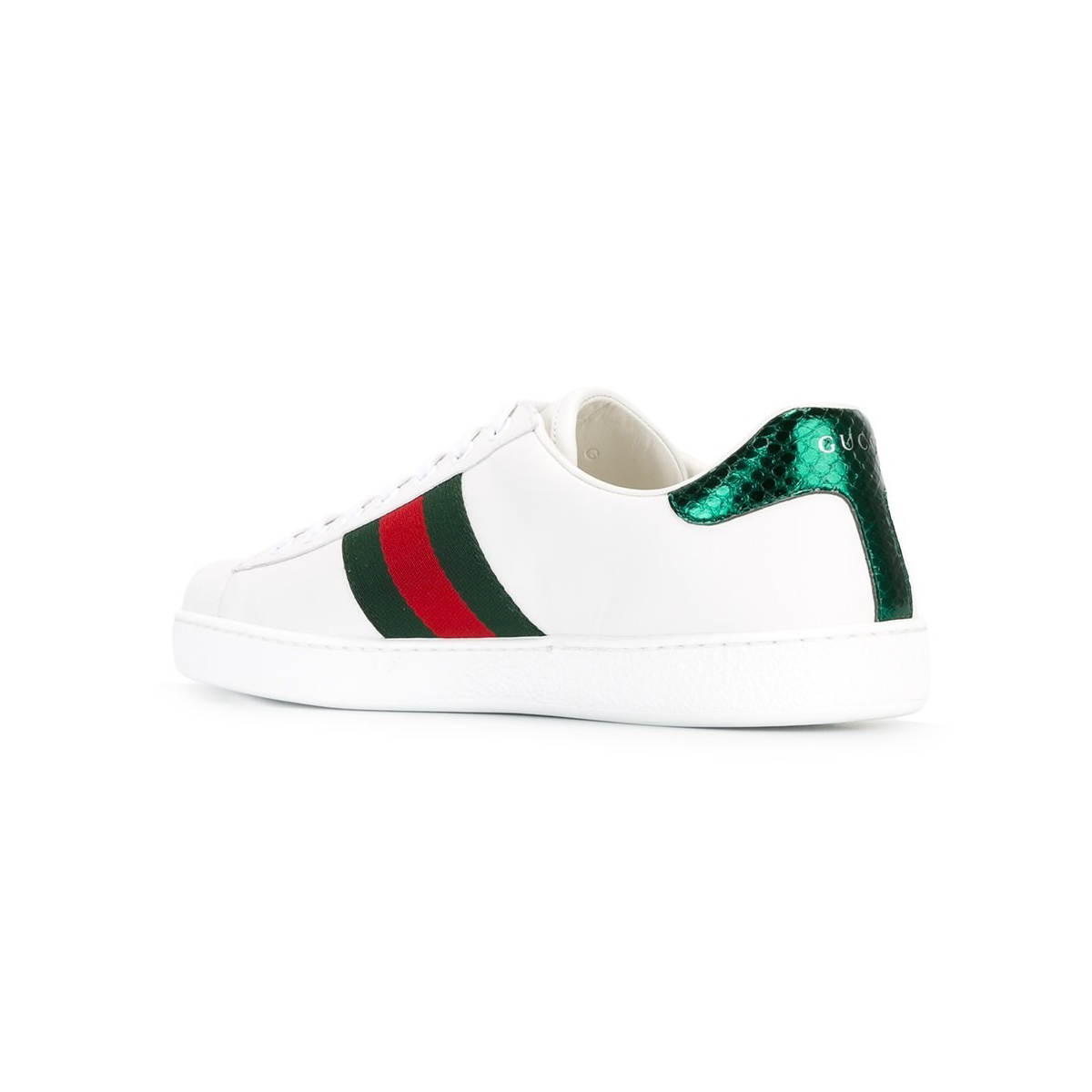 GUCCI Embroidered Ace Sneakers, Men's