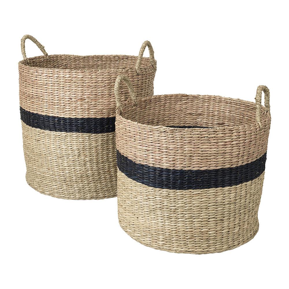 BROSTE Marlene Seagrass Basket- Set of 2
