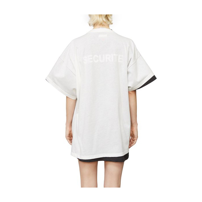 VETEMENTS x HANES Oversized Double Tee