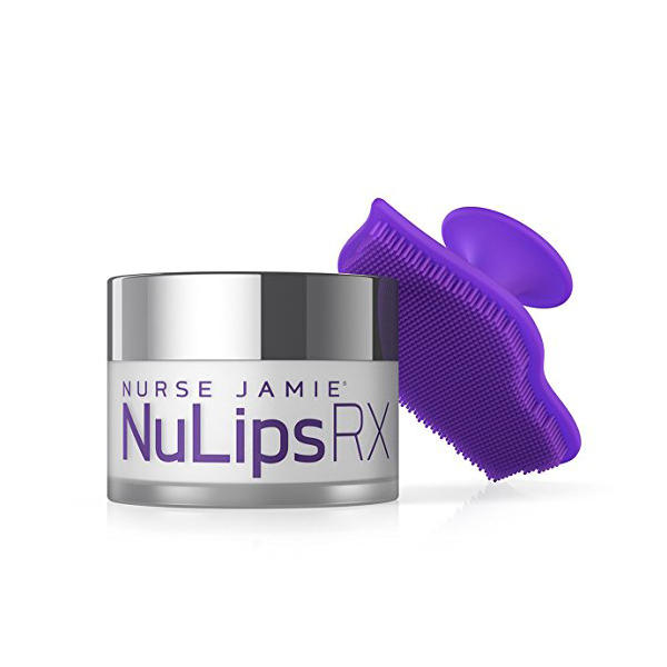 NuLips RX Moisturizing Lip Balm & Exfoliating Lip Brush