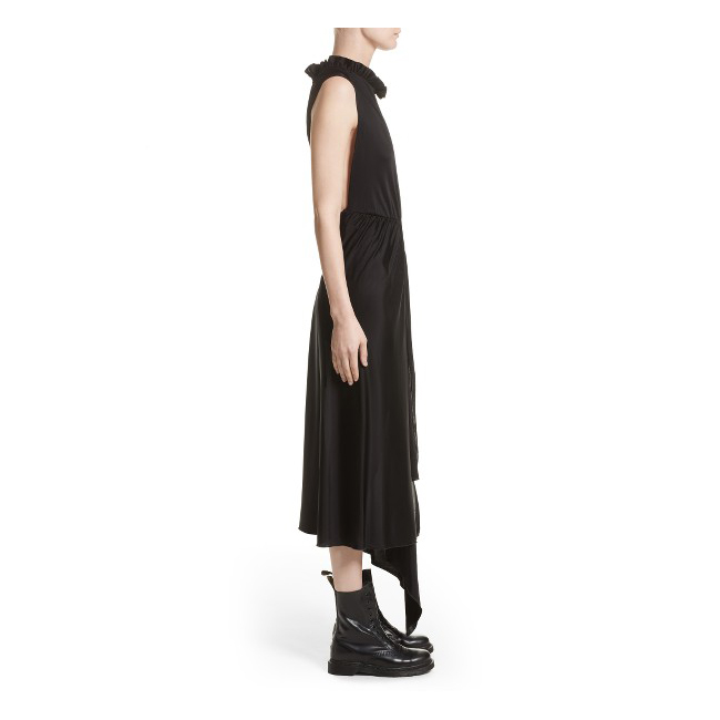 VETEMENTS Ruffled Cutout Wrap Dress