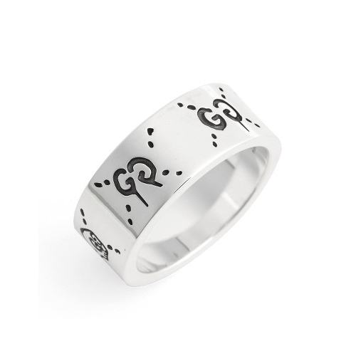 GUCCI GucciGhost Sterling Silver Ring