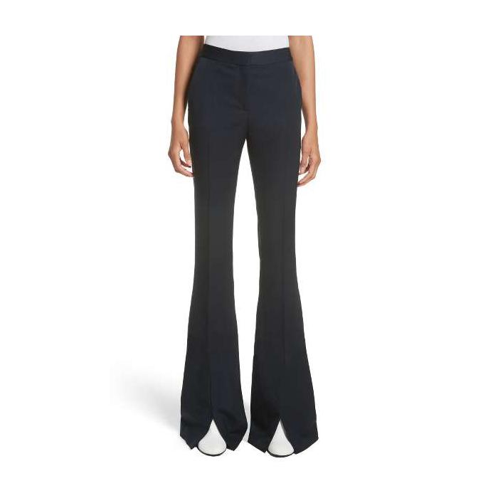 STELLA MCCARTNEY Split Hem Flare Trousers