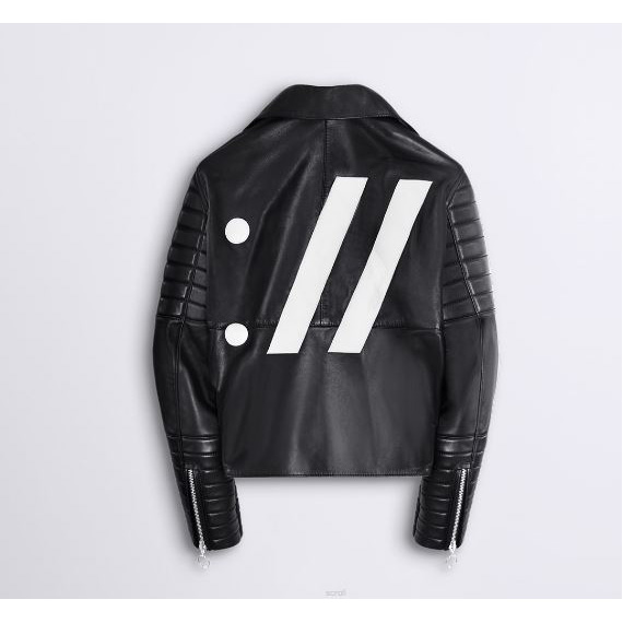 THE ARRIVALS x MILK.XYZ HTML Moto Jacket