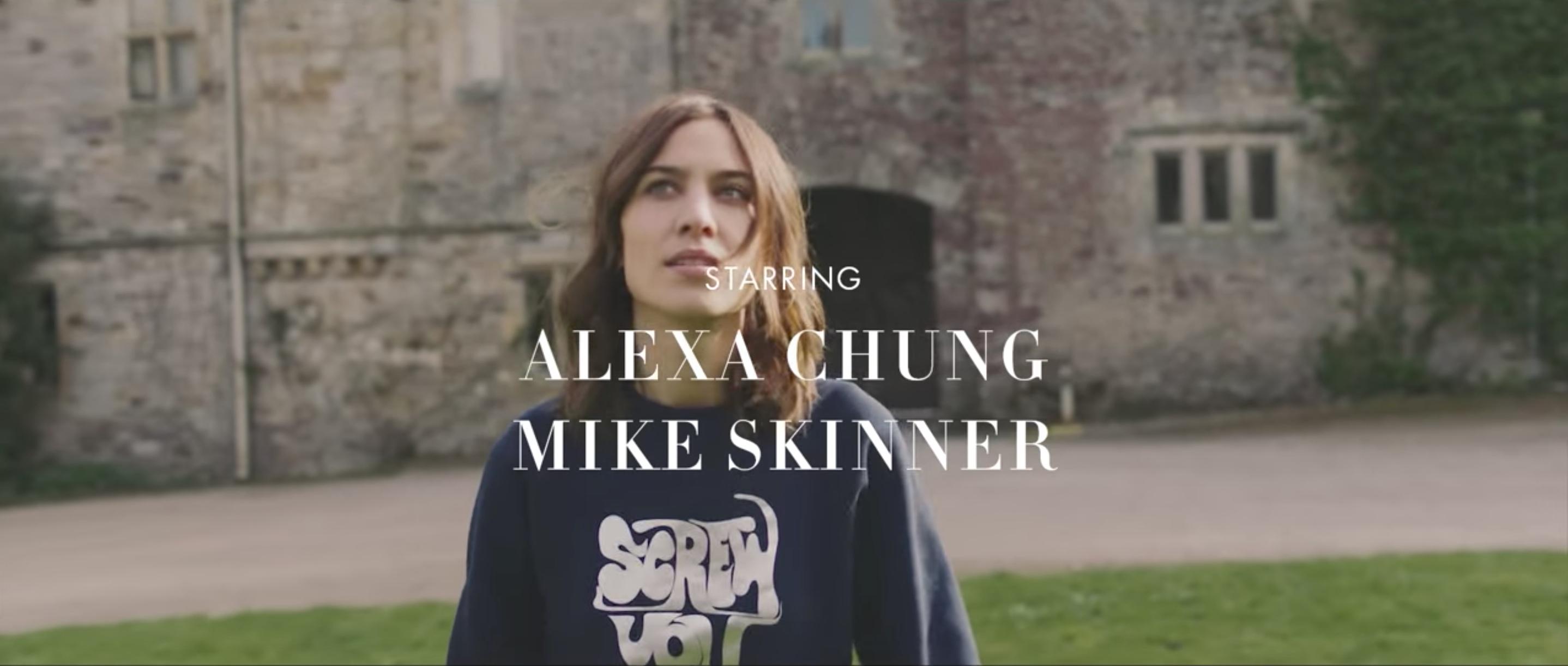 Alexachung: Mike Skinner (The Streets) X Alexa Chung