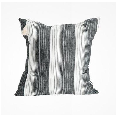 HEDGEHOUSE Cortina Black Large Floor/Throw Pillow – 26″
