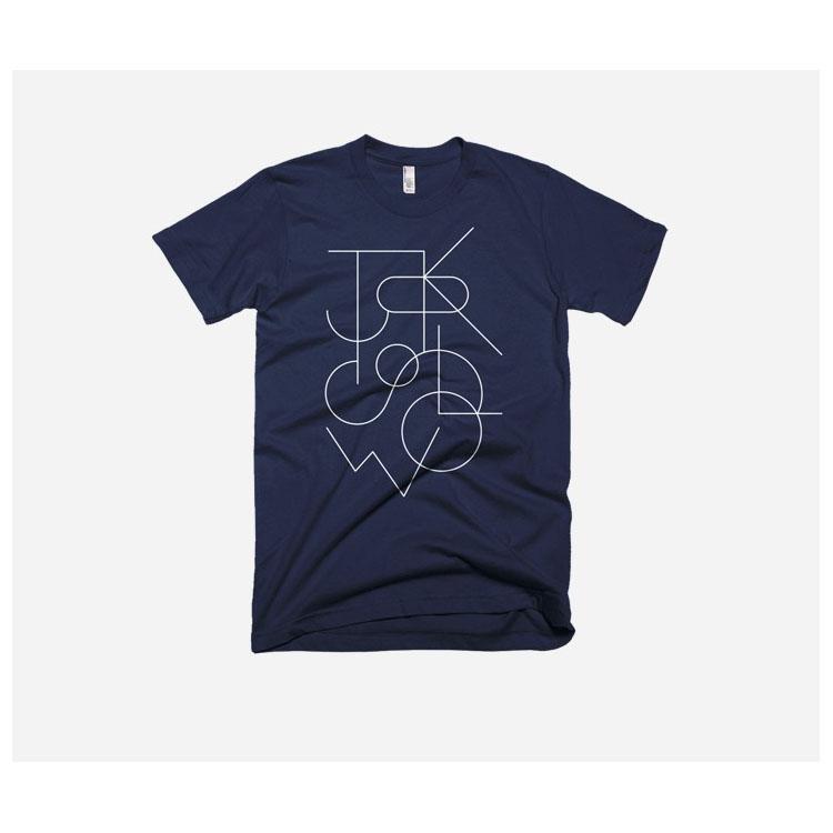 TOKYOBIKE – Tokyo Slow T-Shirt, Navy