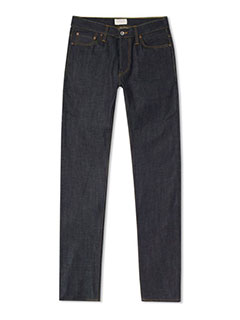 HAWKSMILL DENIM CO. SLIM TAPERED JEAN JAPANESE RAW SELVEDGE