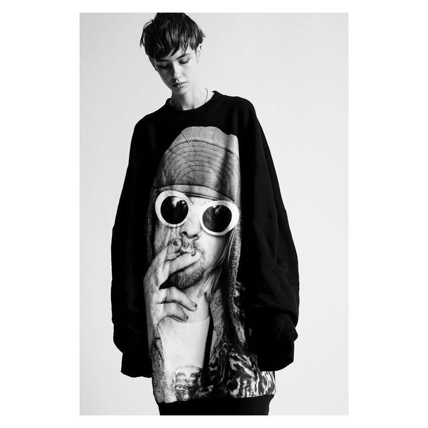 R13 Kurt Sharpei Sweatshirt