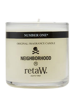 NEIGHBORHOOD X RETAW FRAGRANCE CANDLE NUMBER ONE*
