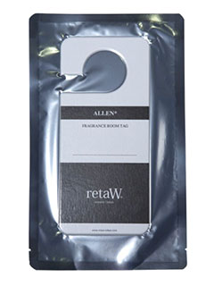RETAW FRAGRANCE ROOM TAG - ALLEN*