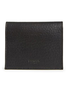 SHINOLA GUSSET LEATHER CARD CASE
