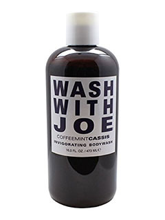 WASH WITH JOE CoffeeMint Infusion Body Wash (Cassis)
