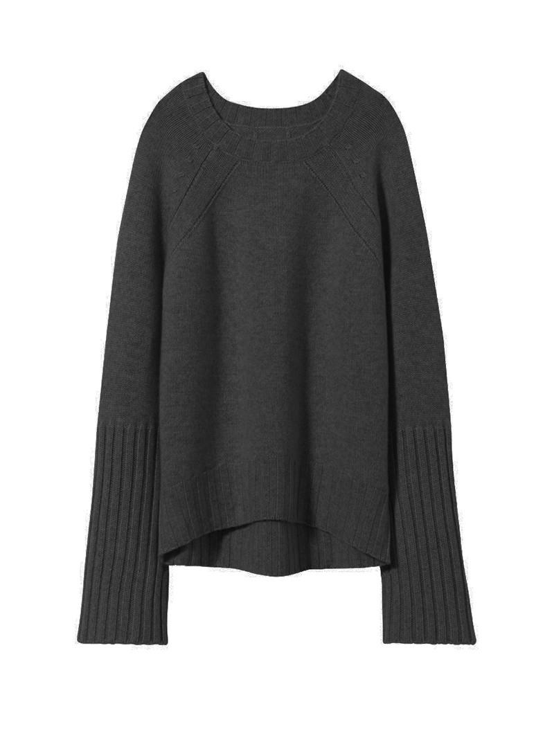Black Cashmere Elsie Sweater