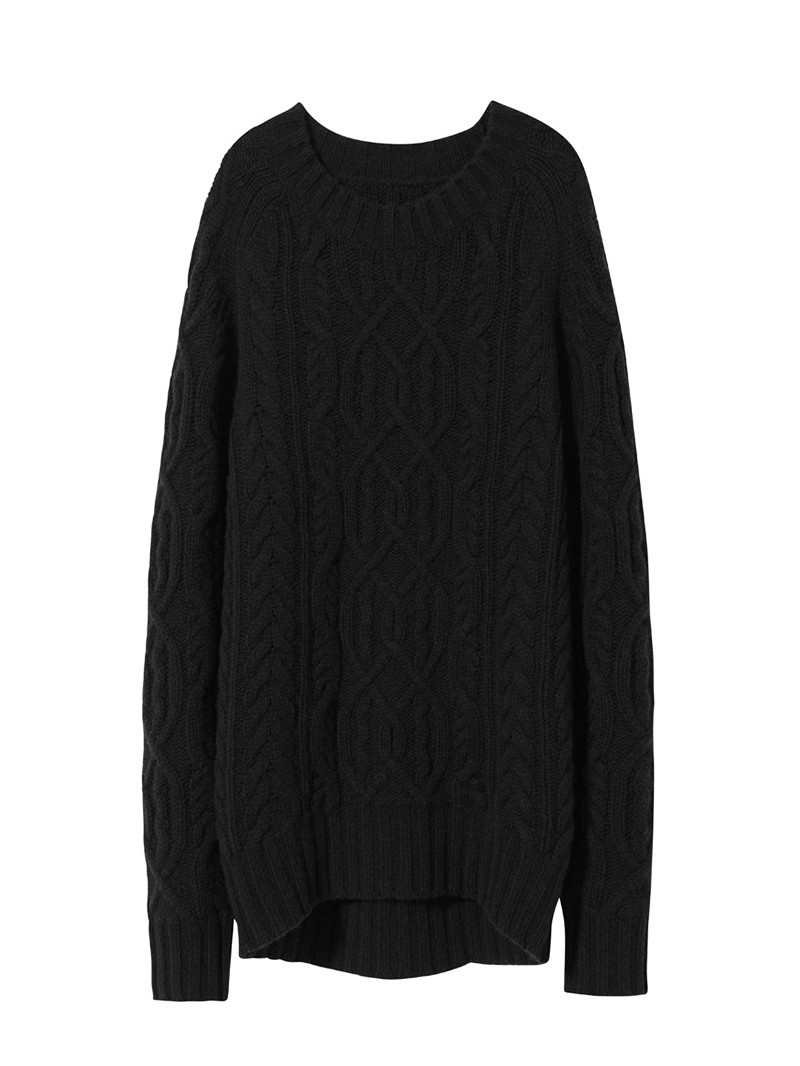 NILI LOTAN Black Kingsland Cashmere Sweater