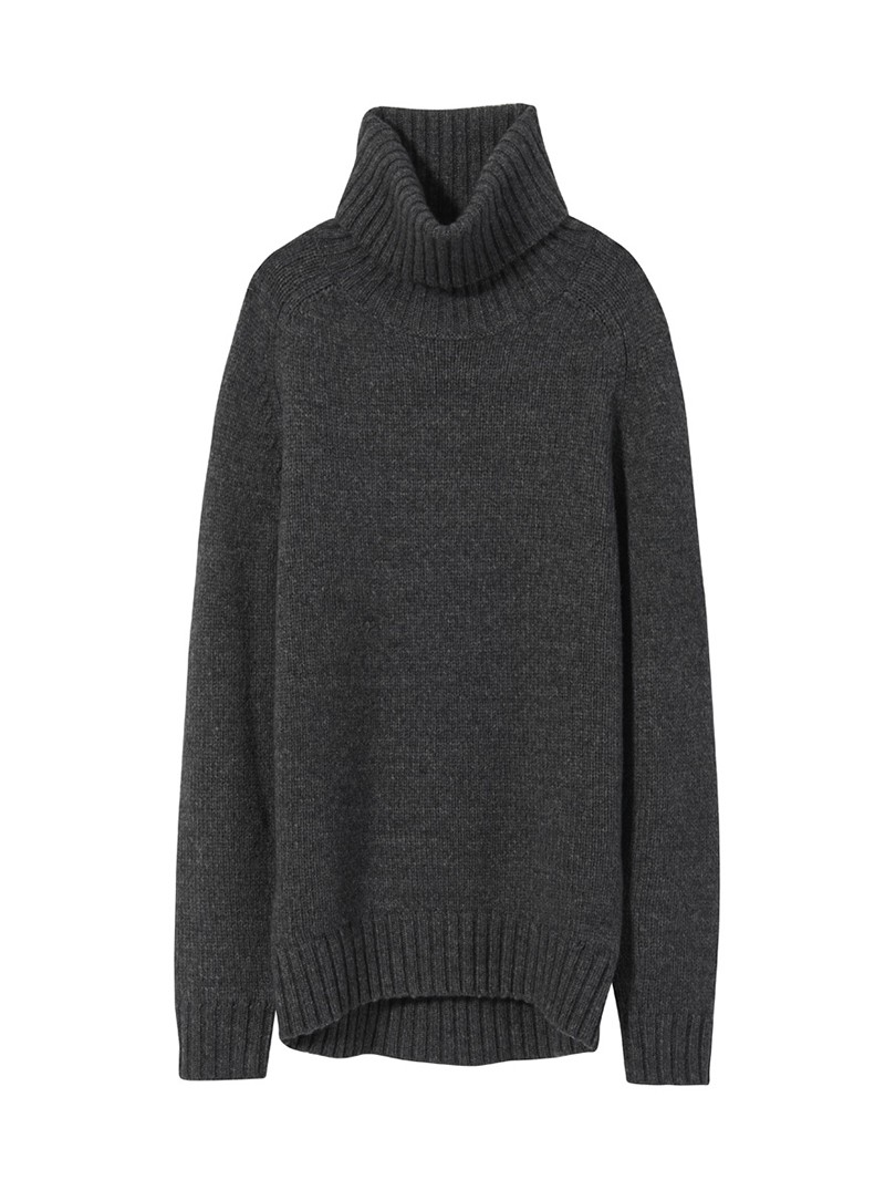 NILI LOTAN Charcoal Elias Sweater