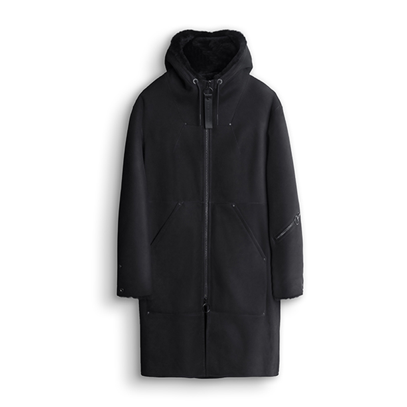 THE ARRIVALS HÅL Shearling Parka