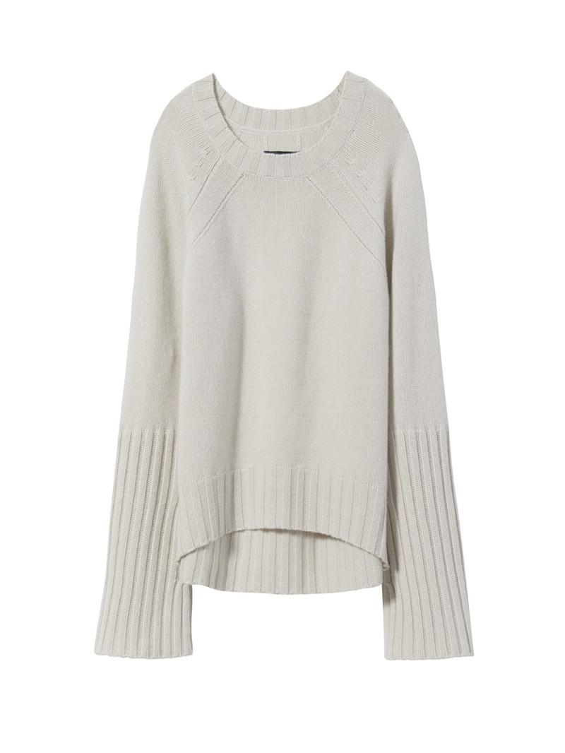 Ivory Cashmere Elsie Sweater