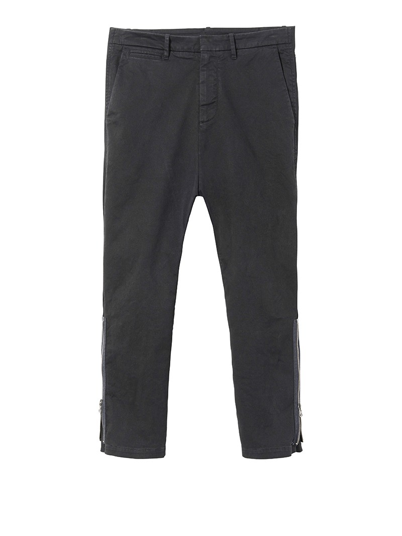 Jet Black Jackson Zipper Pant