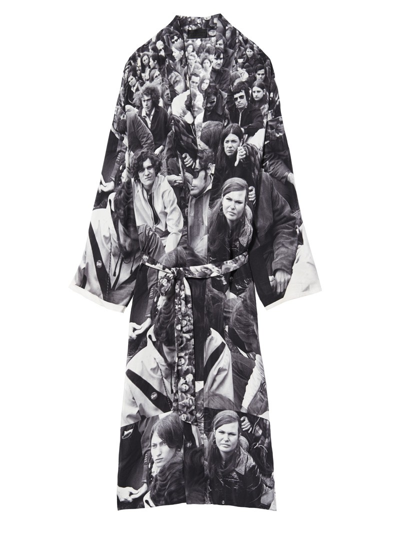 Protest Print Deveraux Robe