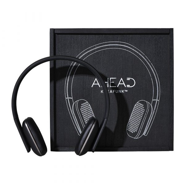 KREAFUNK aHead Headphones - Black/Gunmetal