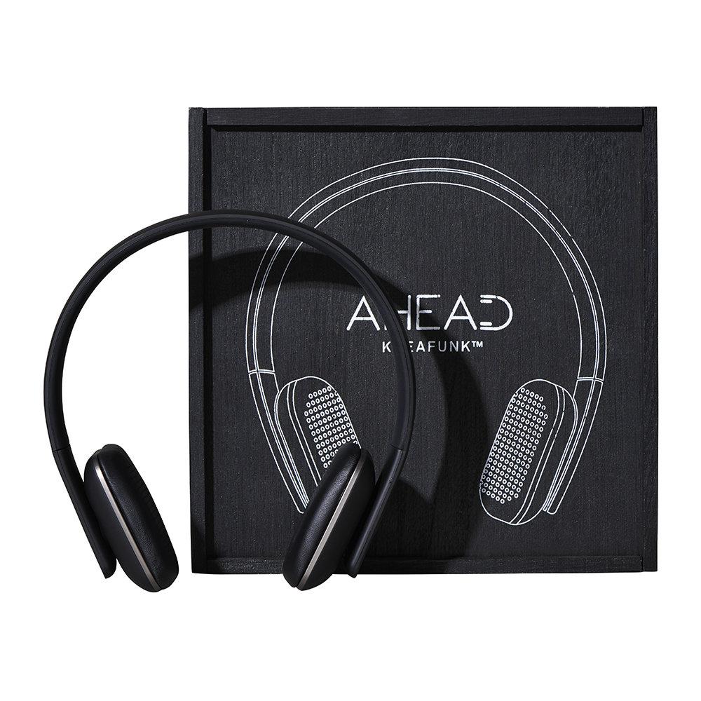 KREAFUNK aHead Headphones – Black/Gunmetal